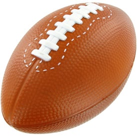 Monogrammed Large Football Stress Toy