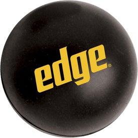 Personalized Large Round Stress Ball