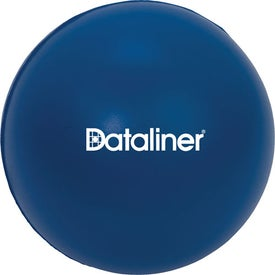 Large Round Stress Ball Branded with Your Logo
