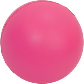 Branded Large Round Stress Ball