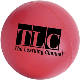 Large Round Stress Ball with Your Logo