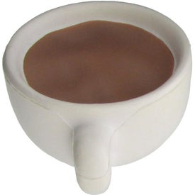 Imprinted Coffee Cup Stress Ball