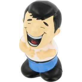 Monogrammed Laughing Man Stress Ball