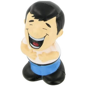 Laughing Man Stress Ball Giveaways