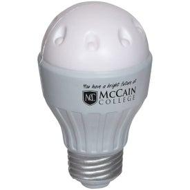 LED Light Bulb Stress Ball