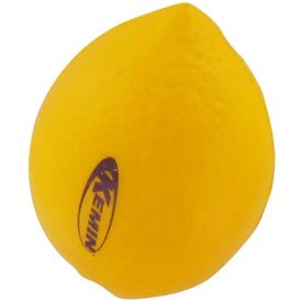 Lemon Stress Reliever Printed with Your Logo