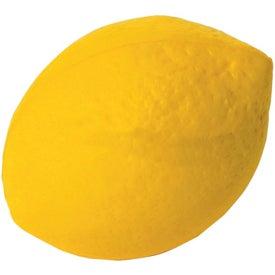 Monogrammed Lemon Stress Reliever