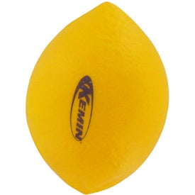 Lemon Stress Reliever Imprinted with Your Logo