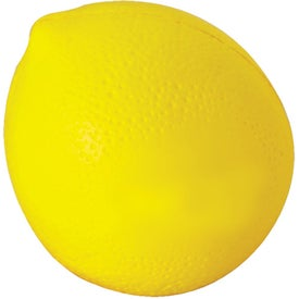 Lemon Stress Ball Printed with Your Logo