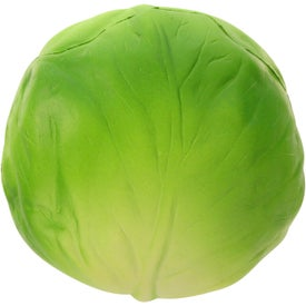 Lettuce Stress Ball Imprinted with Your Logo