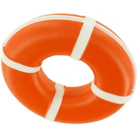 Advertising Life Ring Stress Reliever
