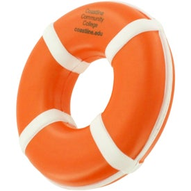 Life Ring Stress Reliever Giveaways