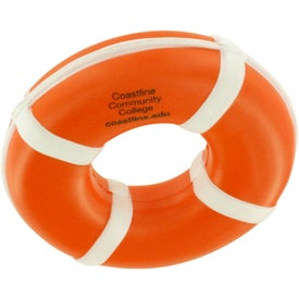 Promotional Life Ring Stress Reliever