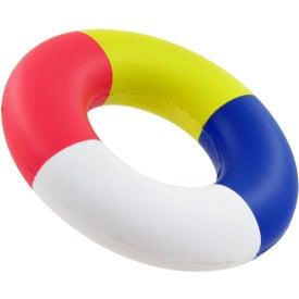 Logo Lifesaver Stress Toy