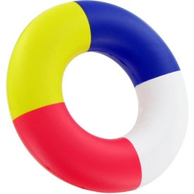 Lifesaver Stress Toy with Your Slogan