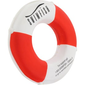 Advertising Lifesaver Stress Ball