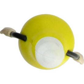 Lightbulb Figure Stress Ball for Customization
