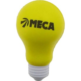 Promotional Light Bulb Stress Ball