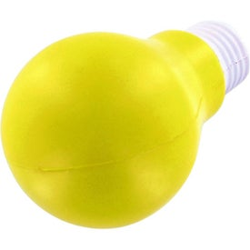 Light Bulb Stress Ball Imprinted with Your Logo