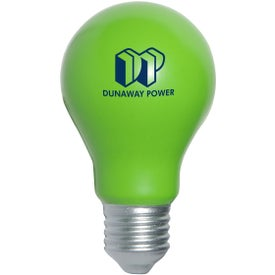 Personalized Light Bulb Stress Ball