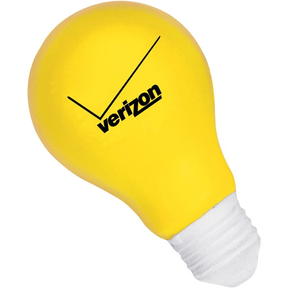 Yellow Light Bulb Stressball