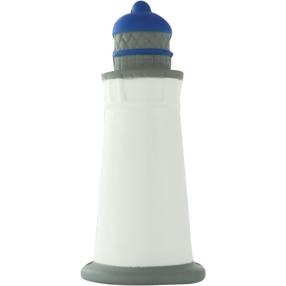 White / Gray Lighthouse Stress Toy