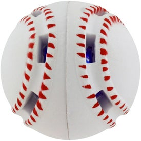 Printed Light-Up Baseball Stress Reliever