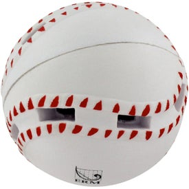 Personalized Light-Up Baseball Stress Reliever