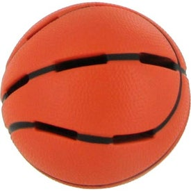 Customized Light Up Basketball Stress Reliever