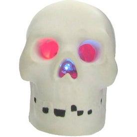 Logo Light Up Skull Stress Reliever