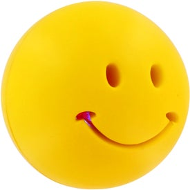 Imprinted Light-Up Smiley Stress Reliever