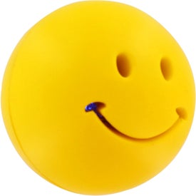 Light-Up Smiley Stress Reliever for Advertising