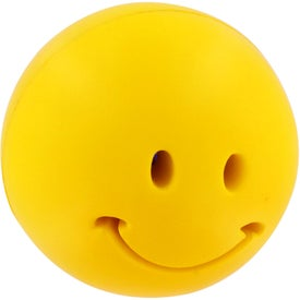 Light-Up Smiley Stress Reliever Branded with Your Logo