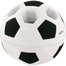 Custom Light-Up Soccer Ball Stress Reliever