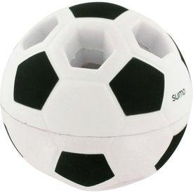 Custom Light-Up Soccer Ball Stress Reliever