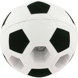Light-Up Soccer Ball Stress Reliever with Your Logo
