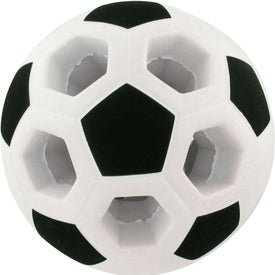 Light-Up Soccer Ball Stress Reliever Imprinted with Your Logo