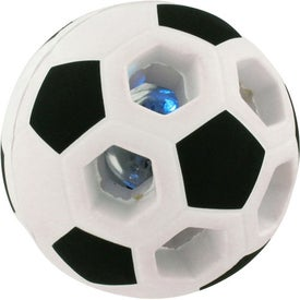 Customized Light-Up Soccer Ball Stress Reliever