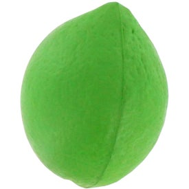 Lime Stress Reliever Branded with Your Logo