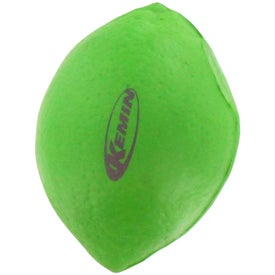 Lime Stress Reliever Printed with Your Logo