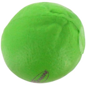 Lime Stress Reliever Imprinted with Your Logo