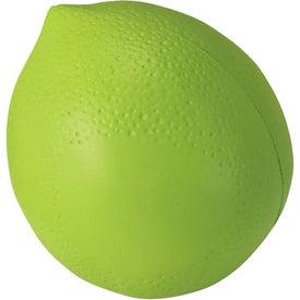 Imprinted Lime Stress Ball