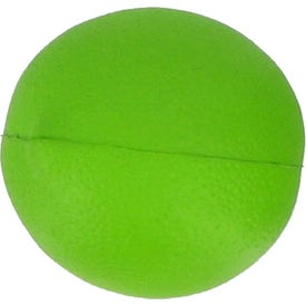 Lime Stress Ball Branded with Your Logo