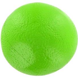 Monogrammed Lime Stress Ball