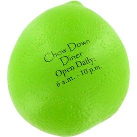 Branded Lime Stress Ball