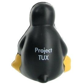 Advertising Sitting Penguin Stress Ball