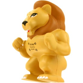 Lion Mascot Stress Ball Printed with Your Logo