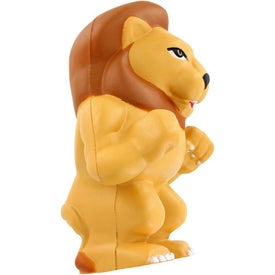 Lion Mascot Stress Ball for Marketing