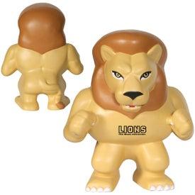 Lion Mascot Stress Ball