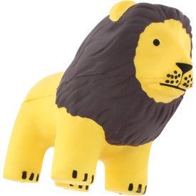 Lion Stress Reliever Imprinted with Your Logo
